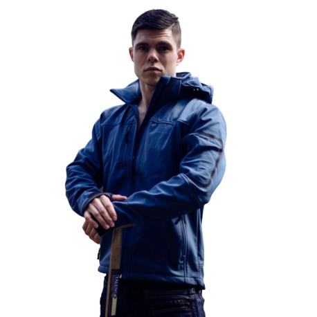 East West Softshell Jacket Londen Blauw