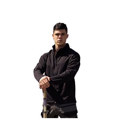 East West Softshell Jacket Madrid zwart