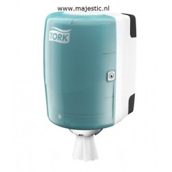 Tork Centerfeed M2 dispenser wit/Turqu