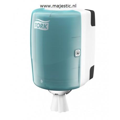 Tork Centerfeed M2 dispenser wit/Turqu