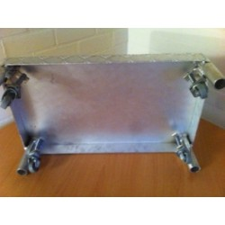 Opstapje (zelf-remmend) Aluminium