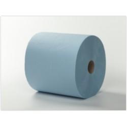 Uierpapier 3- laags verlijmd blauw