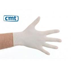 CMT handschoenen latex poedervrij wit