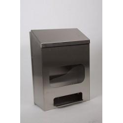 RVS dispenser bezoekersjas