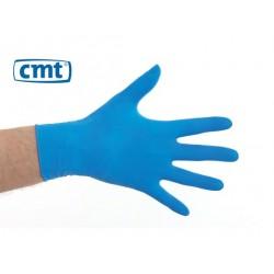 CMT handschoenen latex poedervrij blauw