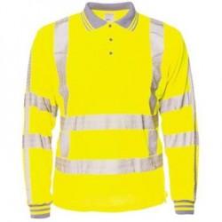 M-Wear 6220 poloshirt RWS geel