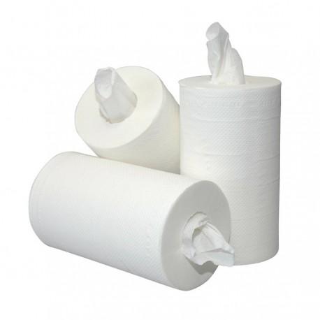 Mini papierrol 2-laags cellulose