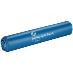 Blauwe afvalzak 120 liter, Staples
