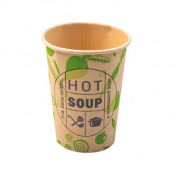Hot Soup bamboe soepbekers